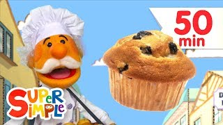 The Muffin Man + More | Kids Songs | Super Simple Songs