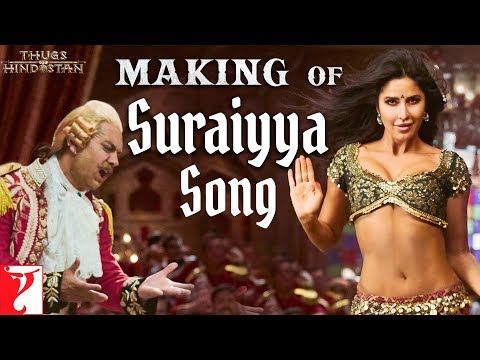 Xxx Mp4 Making Of Suraiyya Song Thugs Of Hindostan Aamir Katrina Prabhudeva Ajay Atul A Bhattacharya 3gp Sex