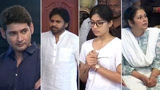 TFI Top Celebrities @ Vijaya Nirmala's House   Manastars