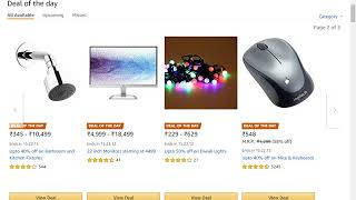 Dewali Special AMAZON deal of the day