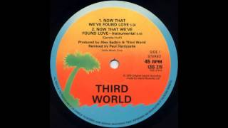 Third World - Now That We 've  Found Love (Instrumental)
