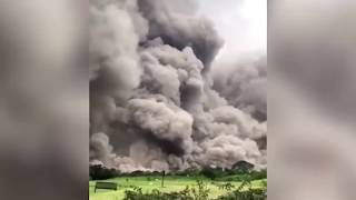 Guatamala volcano eruption pictures FROM SPACE: Incredible images of DEADLY Fuego - The News