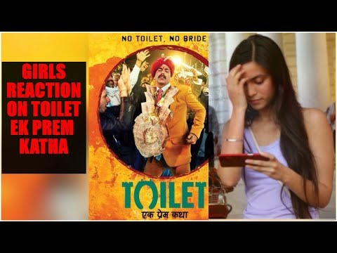 Toilet Ek Prem Katha Official Trailer Public Reaction | Girls Speaking About Toilet Issues in India