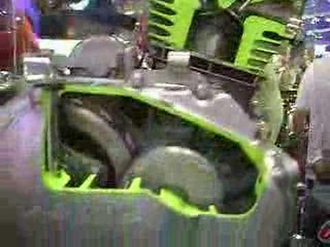 Motor em funcionamento