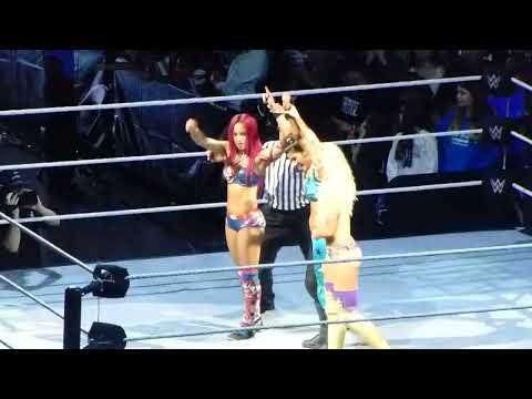 Xxx Mp4 Bayley Sasha Banks Summer Rae Vs Eva Marie Dana Brooke Natalya At WWE Live 3gp Sex