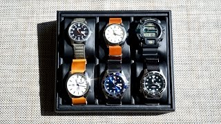 My Small Japanese Watch Collection