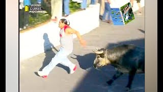 Ozzy Man Reviews: People F#%ked Up By Bulls #2