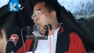 Lepcha Kalingpong Rally Speaker--Please Translate