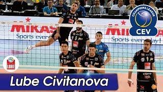 [Points] LUBE CIVITANOVA vs. Sir Safety Perugia | CEV 2017