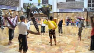 Old traditional persian sport called Zurkhane, Tehran, Iran