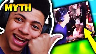 MYTH REVEALS HIS FEMALE MANAGER   Fortnite Daily Funny Moments Ep.74