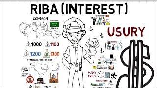 WHY INTEREST (RIBA) IS HARAM - Yasir Qadhi Animated