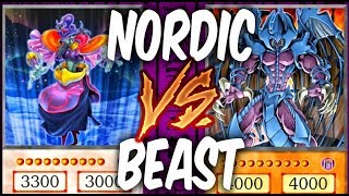 NORDIC GODS vs SACRED BEASTS! (Yu-gi-oh God Card Deck Duel!)