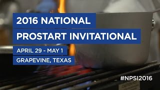 2016 National ProStart Invitational