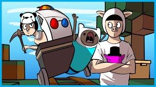 Garry's Mod Deathrun Funny Moments Fortresscraft Edition? - BAGEL, BigJigglyRage, Funny Weird Laugh!