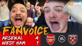 Lacazette scores twice as Arsenal thrash West Ham 4-1 | Arsenal 4-1 West Ham | 90min FanVoice