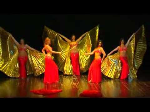 Le Rose d Oriente in Pharaonic Odyssey spettacolo ASSRA R 27 06 10 Brescia