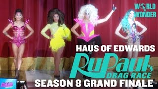 Haus of Edwards: Audience Warmup - RuPaul's Drag Race Season 8 Grand Finale