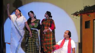 Acting as AASHOR in dance drama SONAI MADHAB on 17th Sep 2016