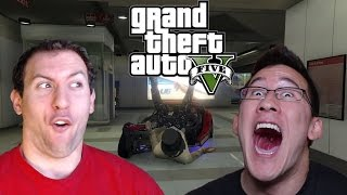 GTA 5 Online With Markiplier and Jacksepticeye Part 1: Yep, We're All Dead