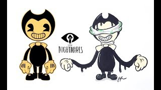 Bendy and the Ink Machine as LITTLE NIGHTMARES