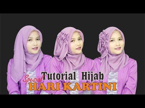 Tutorial Hijab Segiempat Paris | Spesial Memperingati Hari Kartini