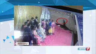 CCTV footage reveals theif at marriage function in Washermanpet | Tamil Nadu | News7 Tamil