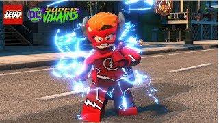 LEGO DC Super Villains Wally West (The Flash) Unlock + Free Roam Gameplay
