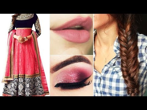 Xxx Mp4 5 Gorgeous Ways To Wear Anarkali Dupatta With Simple Makeup And Hairstyle To Do For Yourself 3gp Sex