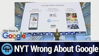 New York Times is WRONG about Google News