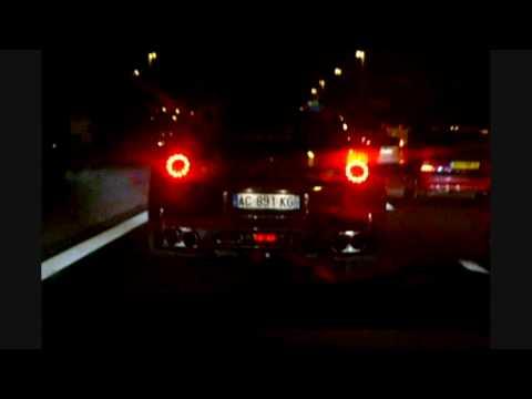 Nissan GTR sur l'autoroute A1