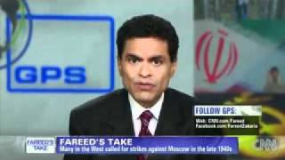 CNN´s Fareed Zakaria: Israel, don´t strike Iran ایران