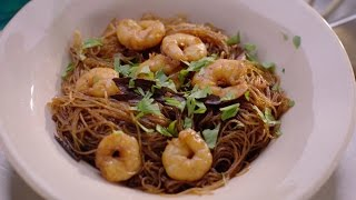 Thai noodles with Prawns and Cinnamon recipe - Simply Nigella: Episode 1 - BBC Two
