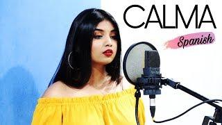 CALMA-Pedro Capó, Farruko | Special (Spanish/Hindi/English) Cover by Srushti Barlewar