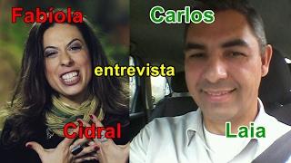 ENTREVISTA: CARLOS LAIA, A VOZ DO TAXISTA PARA FABÍOLA CIDRAL, DEFENSORA UBER, CBN,