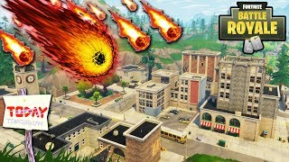 "NEW ""Tilted Towers"" DESTROYED BY METEOR TODAY?! TILTED METEOR STRIKE CONFIRMED by EPIC! (Fortnite)"