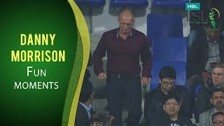 PSL 2017 Match 14:  Danny Morrison