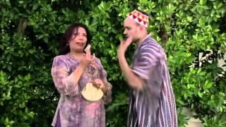 """نونة المأذونة - لحظة مؤثرة بين الفنانة إيمان السيد وأحمد ثابت """" أديكي 10 جنيه وتفكك مني """""""