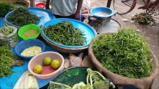 Very Big Winter Vegetables Market Dhaka Bangladesh