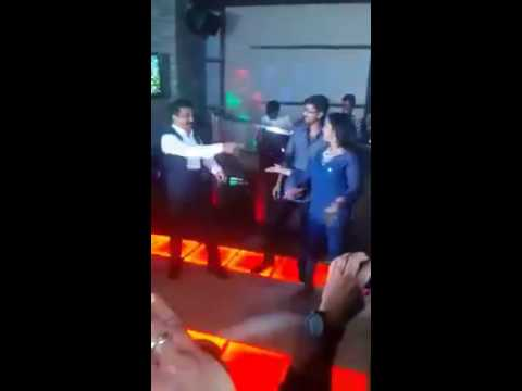 Vijay and Kamal dancing Together with Radhika