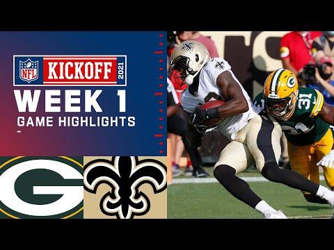 Packers vs. Saints Week 1 Highlights NFL 2021