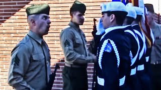 Marine Messing with JROTC Cadets! Hilarious!!! Funny!!! 2014