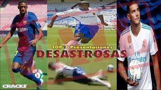 TOP 7: ¡PRESENTACIONES DESASTROSAS!