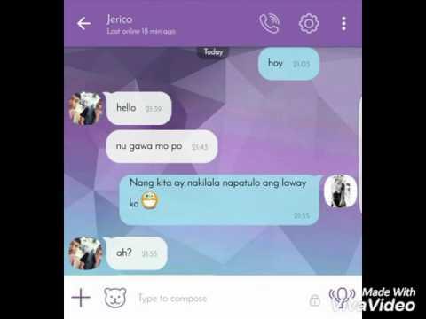 LYRIC PRANK ON MY EX-BOYFRIEND! (With tagalog song)