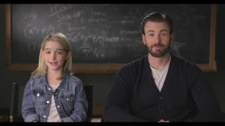 """GIFTED Movie Moment """"Love Your Pet Day"""" - Introduction by Chris Evans & Mckenna Grace"""