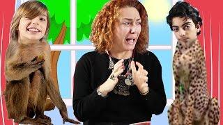 Maymun Ali ile Leopar Ege | UmiKids İksir Formülünü Karıştırdı Olan Çocuklara Oldu