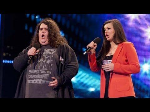 Opera duo Charlotte & Jonathan - Britain's Got Talent 2012 audition - International version