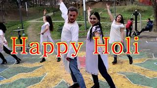 Pagalon Se Naach /Junooniyat/ Holi festival in Tbilisi, Georgia / Dance group Lakshmi & Rima Shamo