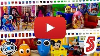 Vídeos de la Semana #5 con Patrulla Canina, Huevos Sorpresa, Mickey, Barbie, Halloween y Dory