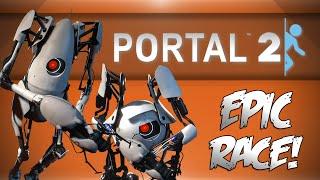 EPIC PORTAL 2 RACE w/ BasicallyIDoWrk!